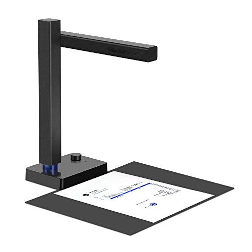 CZUR Shine 500 Pro Dokumentenkamera, Tragbarer Dokumentenscanner mit Maximaler Größe A4 Flachblech, USB 2.0 Schnellscanner mit OCR für Klassenzimmer, Büro