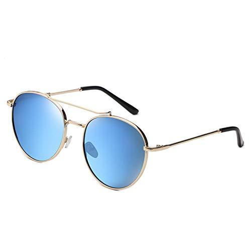 longhua Gafas de sol, moda europea y americana, gafas de sol, hombre y mujer, gafas de sol, azul.