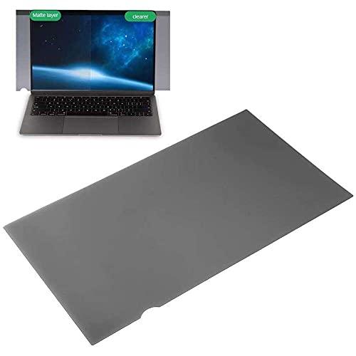 Yuyanshop Privacy Screen Protector, 16:9 Laptop Anti‑Peep Screen Protector for 14in Laptop Computer, Micro‑Optical Blind,Anti‑Glare Coating, Anti‑Peeping(Arc Edge)