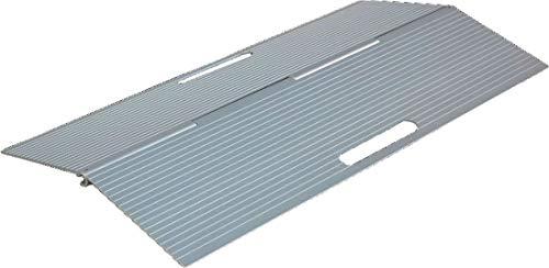 FabaCare Türschwellenrampe Aluminium, klappbar, Rampe 3-5 cm, bis 350 kg, Schwellenrampe