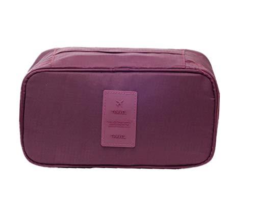 Ducomi® Travel Secret Reise-Organizer, Unisex, Maße: 26 x 13 x 12 cm, bordeaux (Rot) - 0647903005086