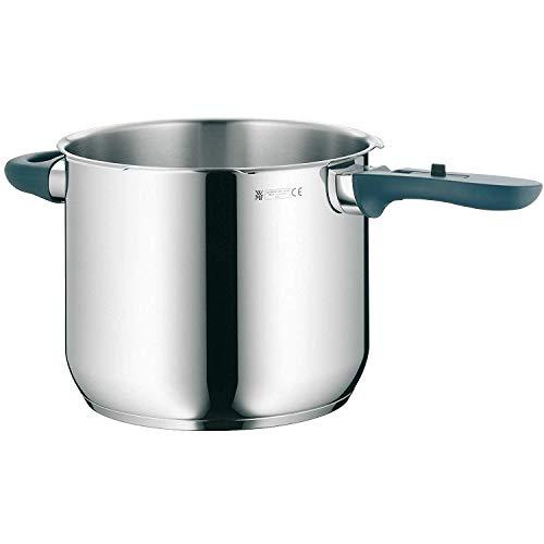 WMF Perfect Plus Schnellkochtopf-Unterteil Induktion 6,5l, Dampfkochtopf ohne Deckel, Cromargan Edelstahl poliert, 2 Kochstufen