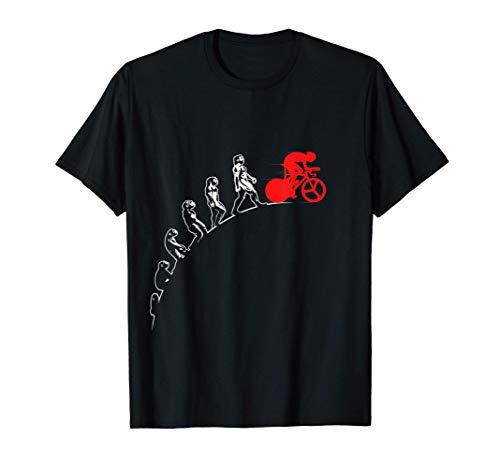 Evolución del ciclista Bicicleta de paseo Camiseta