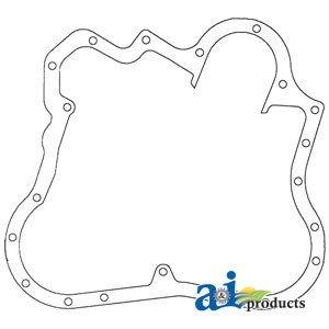 A&I Products Gasket, Front Cover to Timing Gear Housing Replacement for Mas...