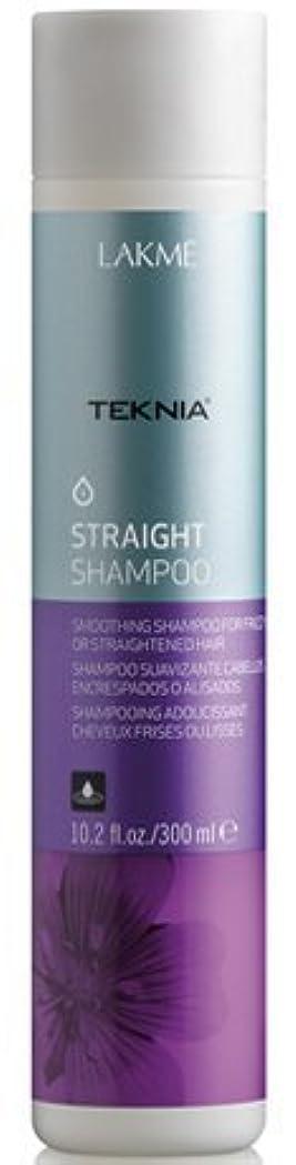 エピソード絶望的な判定Lakme Teknia Straight Shampoo 10.2 Oz by Lakme [並行輸入品]