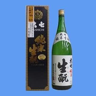 大七 純米生もと1800ml≪日経新聞 何でもランキング 美味しいお燗酒 第一位≫