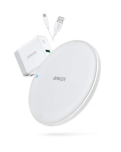 Anker Wireless Charger, PowerWave 7.5 Pad with Internal Cooling Fan, 7.5W for iPhone 11, 11...