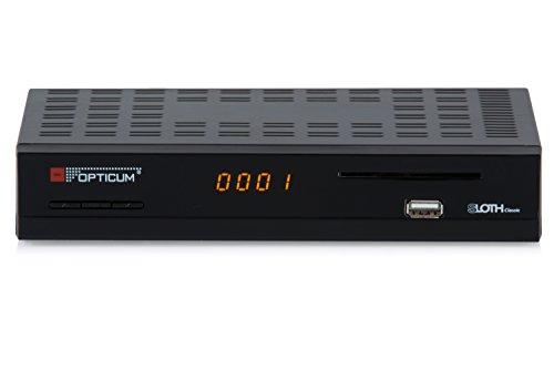 Opticum SLOTH Classic HD DVB-S/S2 Digitale IP-ontvanger (HDTV, DVB-S2, HDMI, SCART, IPTV, LAN, USB)