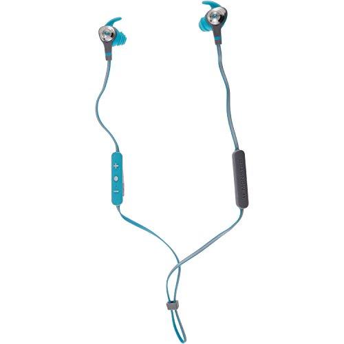 Monster 137095-00 iSport Intensity Bluetooth Wireless In-Ear Kopfhörer blau