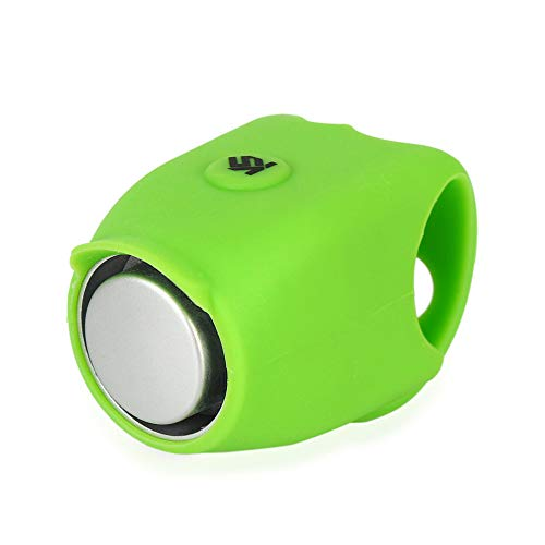 ZEELIY Fahrradklingel Laut, 120 db Kieselgel Wasserdicht Fahrradglocke für Alle Fahrrad Elektrische Lauter, Design Fahrradglocke Radfahren Fahrrad für Alle Fahrrad