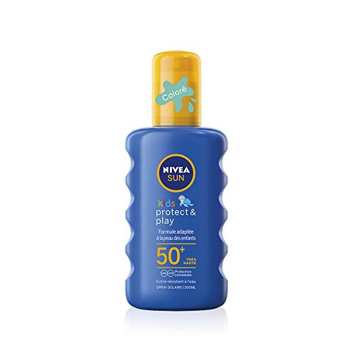 Nivea Sun Kids Spray Protecteur Coloré FPS50+ 200ml