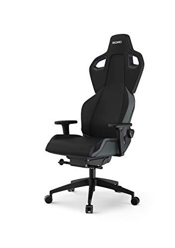 RECARO EXO Gaming Chair - ergonomischer, höhenverstellbarer Gaming Seat der Extraklasse - Iron Grey