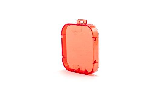 vhbw Korrektur-Filter Verschluss-Kappe rot passend für Action-Kamera mit Unterwassser-Gehäuse GoPro Hero 5, 6