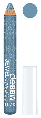 DEBBY Jeweleyepencil Mega 07 Zeewater Glitter Potlood Ogen Product Cosmetisch