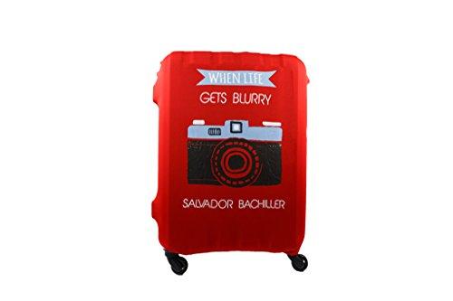 Salvador Bachiller - Funda Universal Camera Compl Viaj Lgz1705 Rojo M