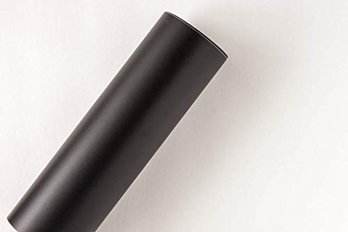 "Black 12"" x 10 Ft Roll of Oracal 631 Vinyl"