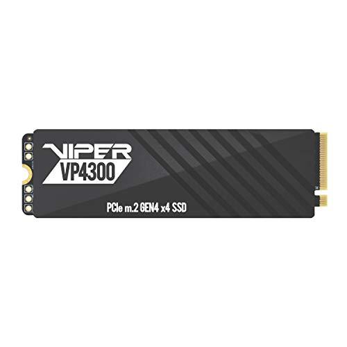 Patriot Viper VP4300 Unidad de Estado sólido SSD de 1TB NVMe M.2 de Alta Velocidad Gen 4 PCIe x4, hasta 7400 MB/s e 5500 MB/s