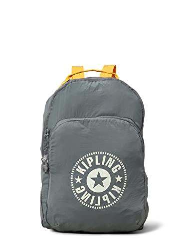 Kipling Damen Backpack Rucksack Grau (D Carbon Light)