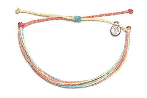 Pura Vida Beach Life Single Bracelet - Handcrafted - 100% Waterproof Wax Coated Accessories