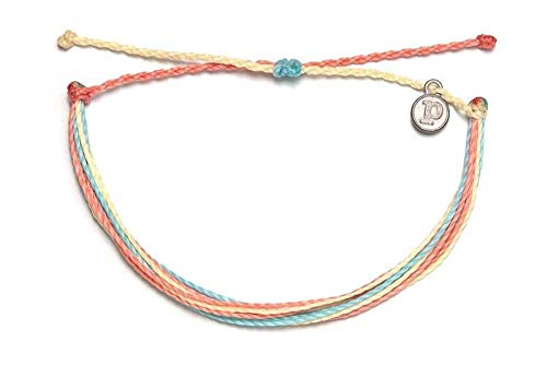 Pura Vida Beach Life Single Bracelet – Handcrafted – 100% Waterproof Wax Coated Accessories