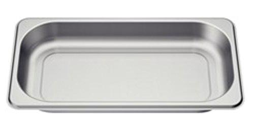 Bosch HEZ36D163 Zubehör für Dampfgarer / Dampfbehälter / Gareinsatz / Edelstahl / ungelocht / Größe S