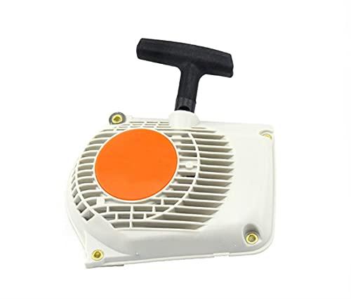 HCO-YU Rücklaufstarter Rücklauf Pull Starter Montage Fits für Stihl MS260 MS240 024 026 Kettensägen 1121 080 2101 Spiraldruckfedern für Rasenmäher