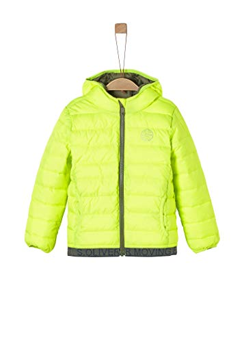 s.Oliver Junior Jungen 404.12.002.16.150.2022716 Steppjacke, neon Green, 128