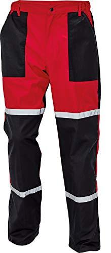 DINOZAVR Tayra Imperméable Pantalon de Travail pour mécanicien - résistant à l'huile - Hommes - Rouge EU50