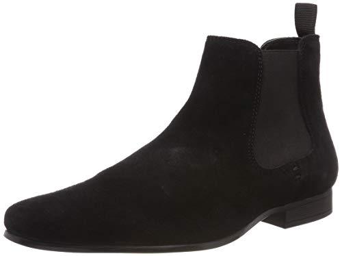 Red Tape Herren Stanway Chelsea Boots, Schwarz (Black 0), 45 EU