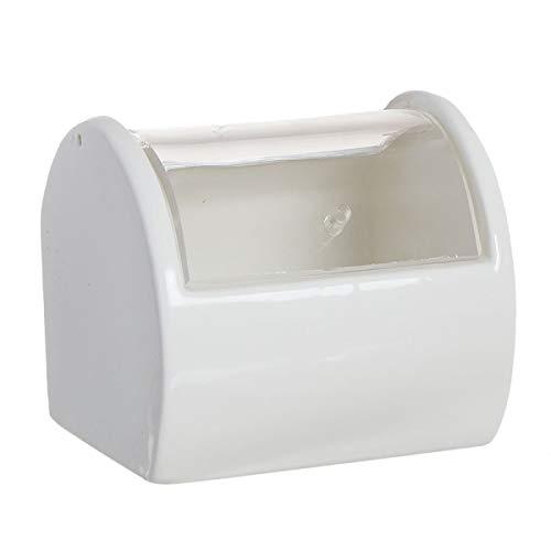 Home Gadgets - Saliera in ceramica, con coperchio, in acrilico, 11 cm
