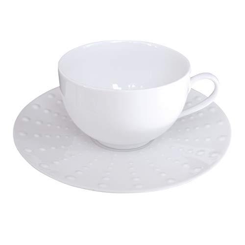Medard de Noblat MS00C1B0001PT Sania - Tazas de té y 6 platos
