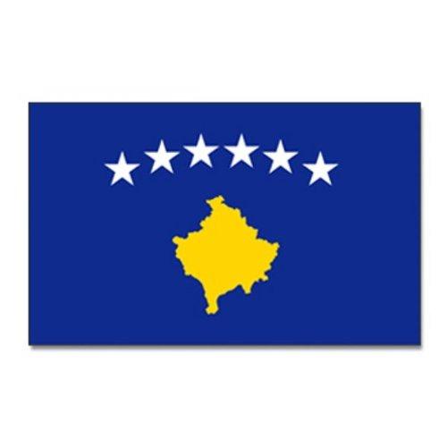 Fahne / Flagge Republik Kosovo 90 x 150 cm Flaggen [Misc.]