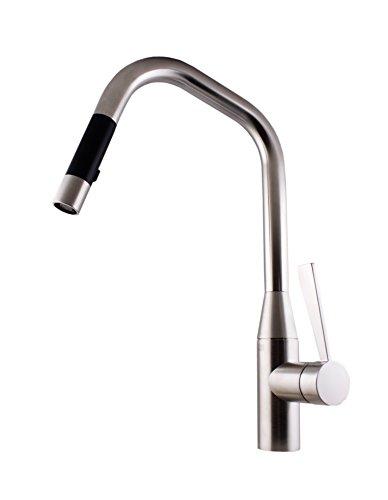 Dornbracht 33875895-06 Sync Pull-down Küchenarmatur mit Brause platin-matt