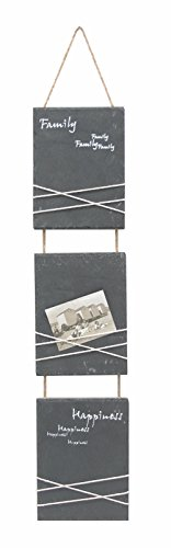 Deknudt Frames S67TE3 Wandhalterung für Bilder, zum Aufhängen, 15x66cm, Format 10x15cm, Schiefergrau