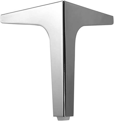 Cylficl Sofá Piernas Muebles de Metal Mesa DIY Mesa de Mesa Pies Mobiliario de Metal Pies para Mesa de Centro, Mesa de Comedor, Escritorio de diseño, mesita de Noche, sillas, gabinete y sofá