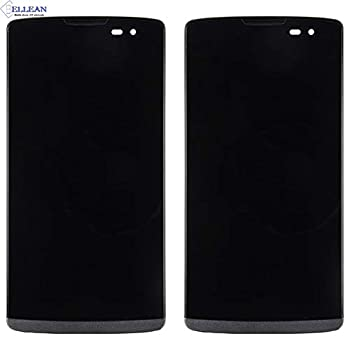 Lysee Mobile Phone LCD Screens - Brand 10PCS Free DHL For LG Leon H340N H340 H326 MS345 H345 LCD Display Touch Screen Digitizer Assembly With Frame -  Color  black with frame