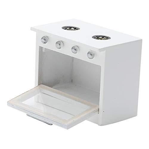 perfeclan 1:12 Escala casa de muñecas Muebles de Cocina en Miniatura Estufa 8x5x6.5cm/3.14x1.96x2.56inch