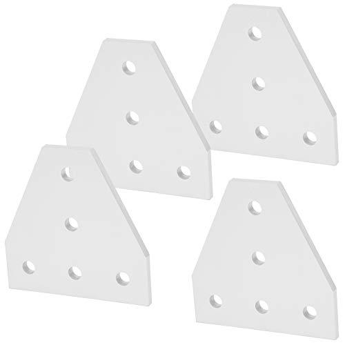 Placa de unión, placa de unión de aleación de aluminio, placa de reparación en forma de T, para impresora 3D para la industria de la construcción(2020T type)