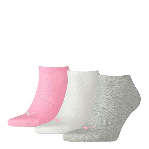 PUMA Herren Sneaker Plain 3p Sportsocken, Pink (Prism 395), 47/50 (Herstellergröße: 039)