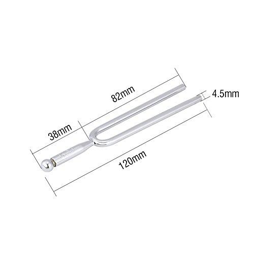 Diapason, Standard Stainless Steel A 440 Hz Strumento per accordare Strumenti per accordatore per Violino con Custodia per Il Trasporto