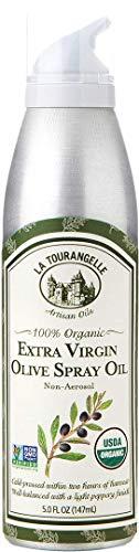 La Tourangelle Extra Virgin Olive Oil Spray 5 Fl. Oz., Cold-Pressed Extra Virgin Olive Oil,...