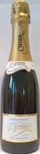 Champagne Cattier Premier Cru Brut Champagner (1 x 0.375 l)