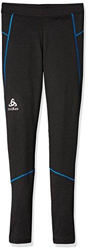 Odlo God juil Collant Pantalon de Course XL Black - Directoire Blue