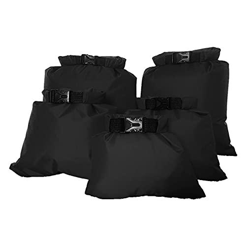 SH-RuiDu 5 bolsas de almacenamiento impermeables para kayak, rafting, barco, senderismo, camping