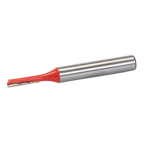 Silverline 832747 1/4-Zoll-Nutfräser, zöllig 1/8 x 1/2 Zoll
