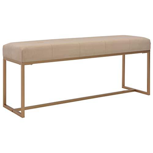 vidaXL Banco Asiento Silla Sillón Taburete Banquillo Mueble Mobiliario de Hogar Salón Cocina Bar C