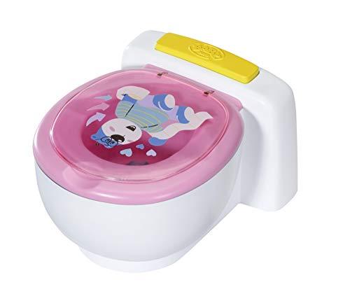 Baby Born Inodoro, Efectos de Sonidos, Para Manos Pequeñas, Caca adecuado Color Arcoíris, 43cm, Edad, más de 3 años
