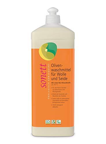 Sonett Oliven Wolle-und Seide Waschmittel, 1000 ml