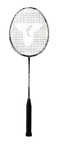 Talbot Torro Badmintonschläger Arrowspeed 799.4, schwarz-silber-weiß, 439866 by Talbot Torro
