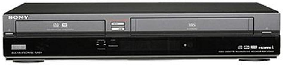 Sony RDR-VX560 1080p Tunerless DVD Recorder/VHS Combo Player (2009 Model) (Renewed)